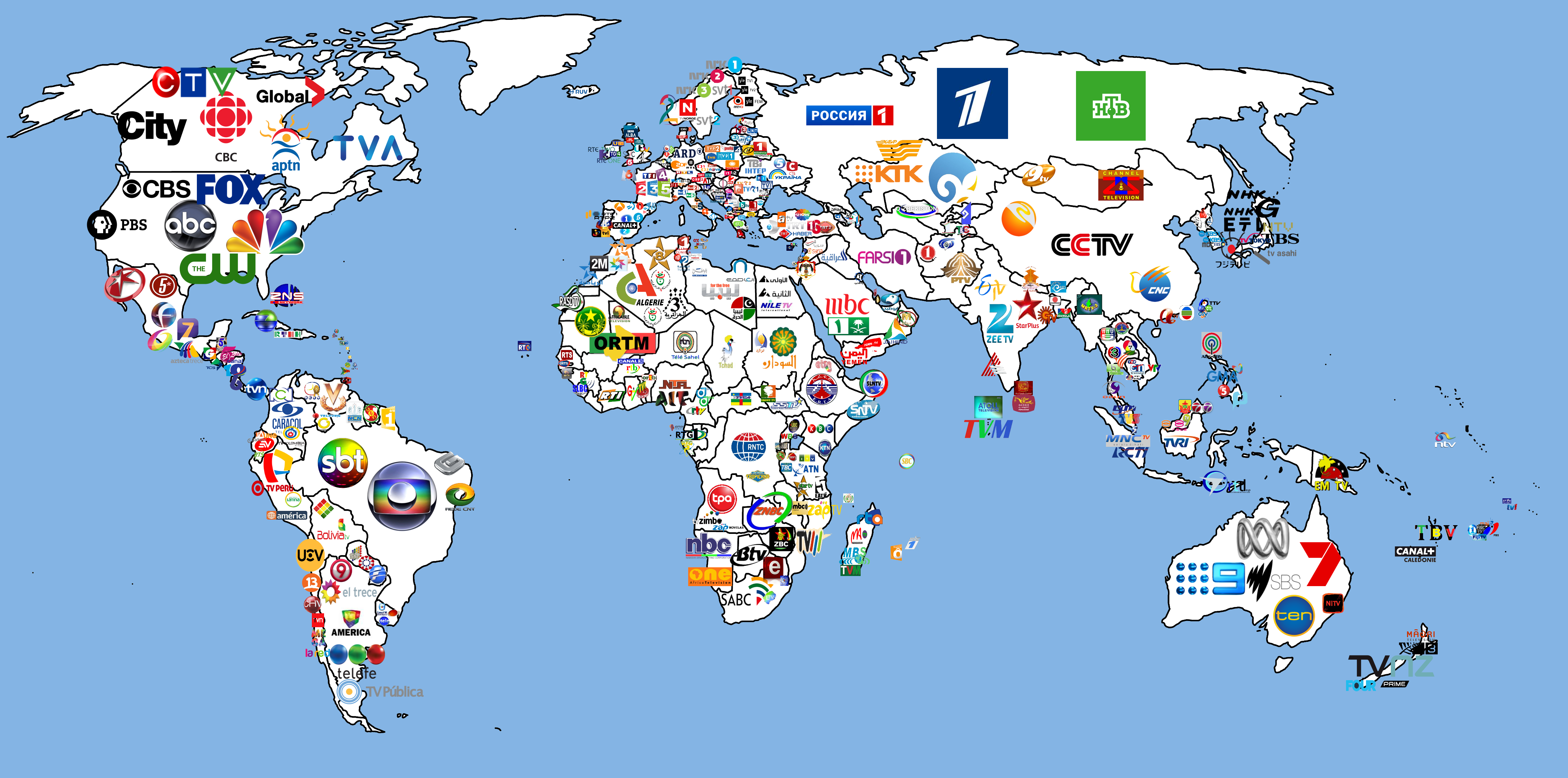 TV channel map of the World - Multi-Interest Blog on us mail map, french spoken map, wifi service map, p.a map, rich people map, d'hara map, x files map, 9gag map, stage map, living room map, xbox live map, mobile coverage map, gps unit map, ntsc map, dc nightlife map, pmp map, sat map, ai map, region code map,